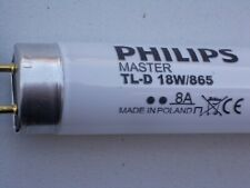 PHILIPS MASTER TL-D 18w/865 8A Made in Poland CE TagesLicht Lampe 60cm Neon
