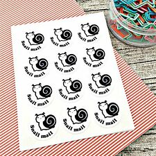 Snail Mail Stickers. Snail Mail Labels. Packaging. happy mail stickers #1027