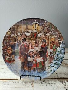 """""""Joyful Carolers"""" From A Victorian Christmas Collection By Dominion China"""