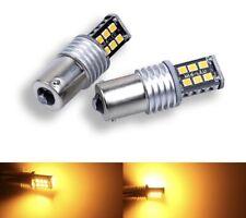 2  BOMBILLAS LED CAN BUS  P21W,1156, BAU15S NARANJA,AMBAR,INTERMITENTE. 78 SMD