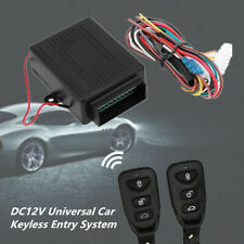 Universal Car Keyless Entry System Remote Central Kit Door Lock SUV Security Set