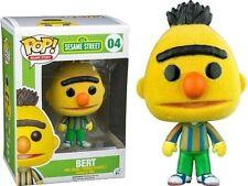 Sesame Street Bert Flocked Pop Figurine 9 Cm Funko