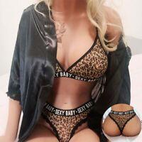 Lace Babydoll Sleepwear Sexy Lingerie Bra+G-string Set Underwear Nightwear Thong