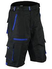 Men Shorts Moto Bike MTB Cycling Padded Thermal CoolMax® Off Road Riding