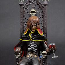 HIGH DREAM Captain Harlock on Throne Statue Figure NEW SEALED