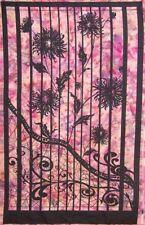"Shattered Garden Digital Panel-Northcott-Purple Colorway-24"" x 43""-Batik Print"