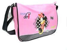 Disney Minnie Mouse Rojo Rosa para chica MONEDEROS Bolso De Compras Escuela