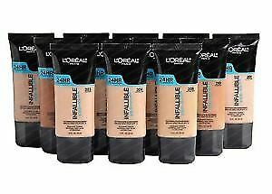 L'OREAL INFALLIBLE PRO-GLOW 24HR FOUNDATION NEW   UK STOCK