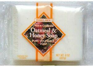 Trader Joe's Oatmeal & Honey Vegetable Soap (2 Bars)
