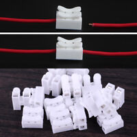 100pcs Self Locking Electrical Cable Connectors Quick Splice Lock Wire Terminals
