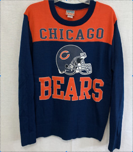 """NFL Team Chicago Bears """"JUNK FOOD""""  Sweater/young size L"""
