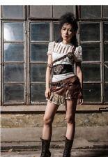 RQ-BL brown steampunk skirt