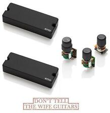 EMG 40CS Active 5 String Bass Soapbar Pickup Set & BTC System Tone Control 40 CS