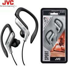 JVC HA-EB75 SILVER Sports Adjustable Ear Clip Earphones Headphones / Brand New
