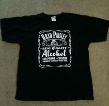 Brad Paisley Alcohol MENS Large Shirt-FAST SHIPPING