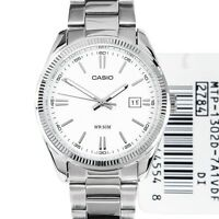 Casio New Original MTP-1302D-7A1 Men Analog Stainless Steel Watch WR 50M MTP1302