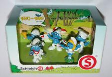 Smurf 1970-1979 Set - Doctor Postman Ballerina Chef Smurfs