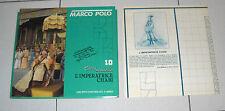 MARCO POLO Cartamodello 10 L'IMPERATRICE CHABI Fabbri 1982 Serie Rai Tv Costume