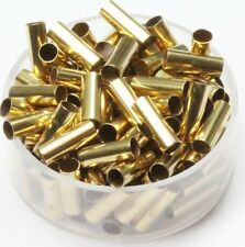 Solid Brass Tube Spacer Beads Hole Size 3 Mm, Length 10 Mm,Pkg. Of 100,Raw Brass
