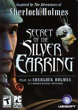 Sherlock Holmes SECRET OF THE SILVER EARRING PC Game Adventure NEW