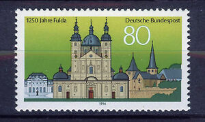 Germania/Repubblica West Germany 1994 MNH SC.1824 Fulda