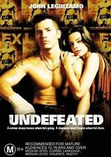 Undefeated (DVD, 2004) // New // No Cover // Disc & case only