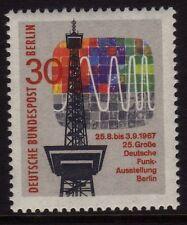 Germany Berlin 1967 Broadcasting SG B303 MNH
