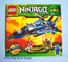 LEGO Ninjago 9442 Jay's Storm FIGHTER-solo libro di istruzioni-no LEGO mattoni
