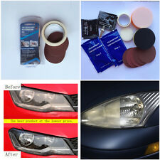 Universal Auto Car Headlight Lens Restoration Kit Restorer System Polishing Tool