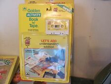 Golden Activity Book & Tape set New Sealed Let's Add