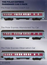 Lionel HO Scale 6-58019 Polar Express 3 Car Set New In Box