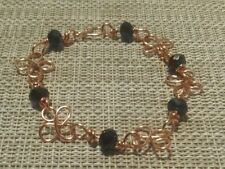 Handmade Copper Stone Beaded Costume Bracelets