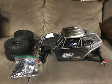 Losi 1/10 Rock Rey 4WD Rock Racer Kit - Assembled With Upgraded Front Shocks