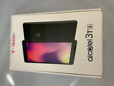 Alcatel 3T 8-Inch 16GB Tablet for T-Mobile - Metallic Black