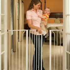 Regalo WideSpan Extra Tall Walk Through Baby Safety Gate, 38