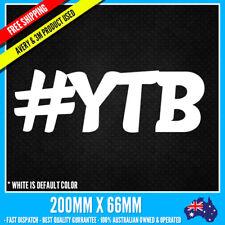 #YTB YEAH THE BOYS CAR Sticker Decal JDM DRIFT FUNNY STICKER NOTEBOOK WINDOW