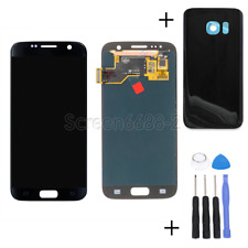 For Samsung Galaxy S7 G930F G930 LCD Display Touch Screen Digitizer black+cover