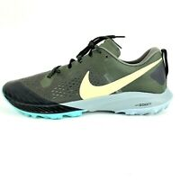 New Nike Zoom Terra Kiger 5 Trail Running Shoes AQ2219 301 Olive Mens Size 12