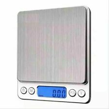 Digital 2000g X 0.1g Jewelry Gold Scale Silver Coin Grain Gram Pocket Size Herb
