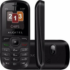 Phone Alcatel Triple Sim 307G UNLOCKED 2G Quad Band GSM Camera Mp3 Desbloqueado