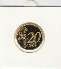Duitsland 2002 PP 20 cent letter A Proof