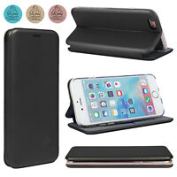 Gorilla Flip Cover For Apple iPhone 8 Leather Case Slim Magnetic Stand 3D Wallet