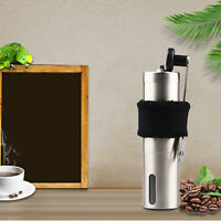 KQ_ IC- KE_ Portable Manual 304 Stainless Steel Coffee Grinder Mill for  Office