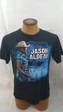 Jason Aldean 2011 Concert T-shirt My Kind Of Party Size Medium Black Shirt