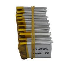 10 pcs 3.7V 140 mah Polymer rechargeable Li Battery For Sat Nav bluetooth 402025