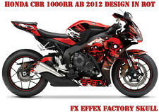 FX Factory Effex DECORO GRAPHIC KIT HONDA CBR 250,600rr, 1000rr SKULL B