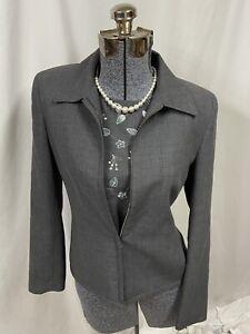 ANN TAYLOR Formal 2 Piece Set Suit Jacket & Waistcoat Wool Long Winter Ready