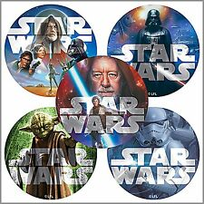 Star Wars Stickers x 15 - Classic Star Wars - Birthday Party Favours - Bulk Buy