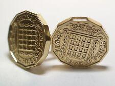 61st birthday 1957 coin cufflinks