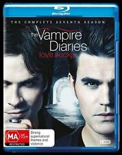 Vampire Diaries : Season 7 (Blu-ray, 2016, 3-Disc Set)New, ExRetail (D121)
